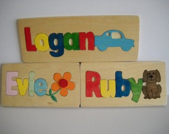 Personalised Name Puzzle Trays/ Puzzles