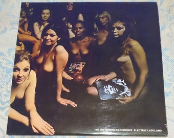 JIMI HENDRIX Electric Ladyland 2 LP Vinyl Gatefold Polydor 2310270 near mint condition