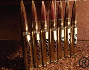 Groomsmen Gifts - 50 Caliber® - Drink and Barware - Guy Gift - Bullet Bottle Opener - Personalized