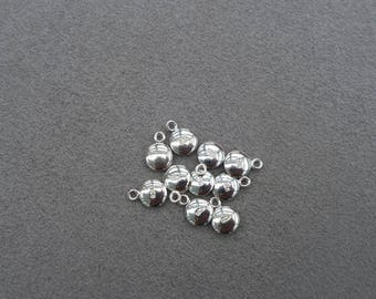 925 Sterling Silver,10pcs,Round Shape Charms or Quality Tag,DIY,Jewelry Making,Supplies,Findings