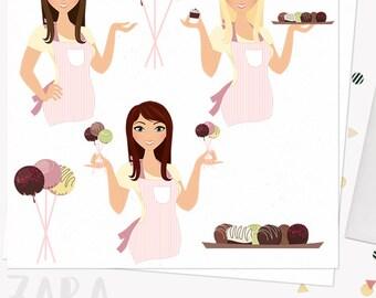 Woman Theme Clipart Lite