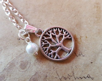 Necklace of tree of life ~ silver ~