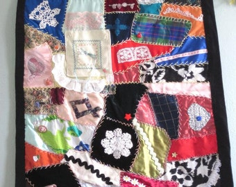 Crazy Quilt Wallhanging 1