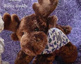 Moose Battle Buddy  (Jared/Sam/Supernatural)