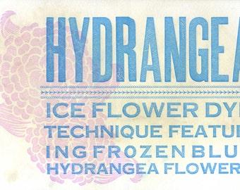 Hydrangea Flower Postcard
