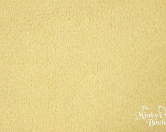 Minky Smooth Cuddle - Camel - from Shannon Fabrics