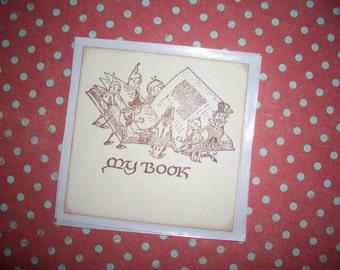 Bookplates - Vintage Palmer Cox Brownies - My Book - Handmade - Set of Six
