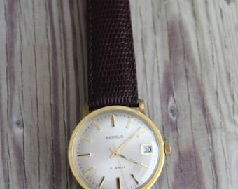 Vintage Benrus Swiss View Back Wrist Watch by avintageobsession on etsy...FREE USA Shipping