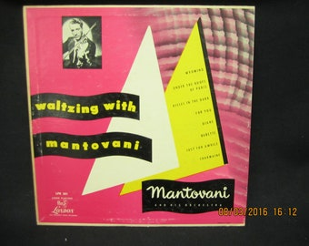 Waltzing With Mantovani - London Records 10 inch LP