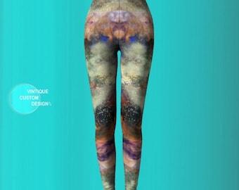 LEGGINGS YOGA PANTS Womens Designer Leggings Designer Fashion Leggings Galaxy Leggings Winter Leggings Art Leggings Printed Leggings Womens