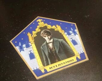 Scamander Chocolate Card