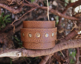 Brown leather strap. wrist strength; Bracelet of strength; Brown Leather Bracelet (18/29)