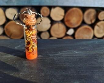 Key-chain Spell Jar