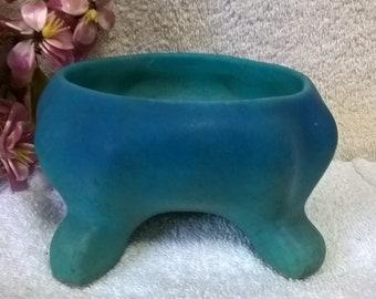 Van Briggle Bowl in Ming Blue