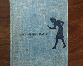 Vintage 1937 The Whispering Statue // Nancy Drew Mystery Stories by Carolyn Keene
