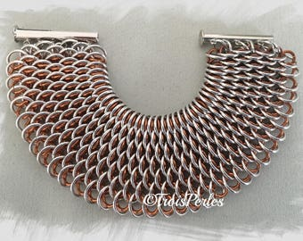 20 - Chain Maille Armband - Chainmaille Bracelet