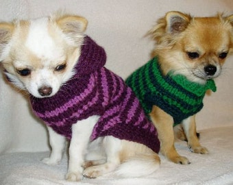 Dog Sweater - Chihuahua Clothes - Pet clothing - Small Dog