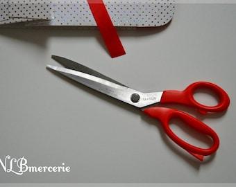 Scissors sewing TAKSUN 25 cm Blue or red