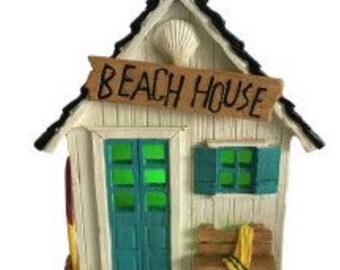 Dollhouse Miniature Beach House