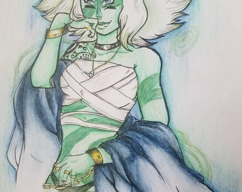 Steven Universe Modern - Malachite