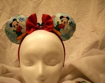 Christmas Mickeey Mouse Ears