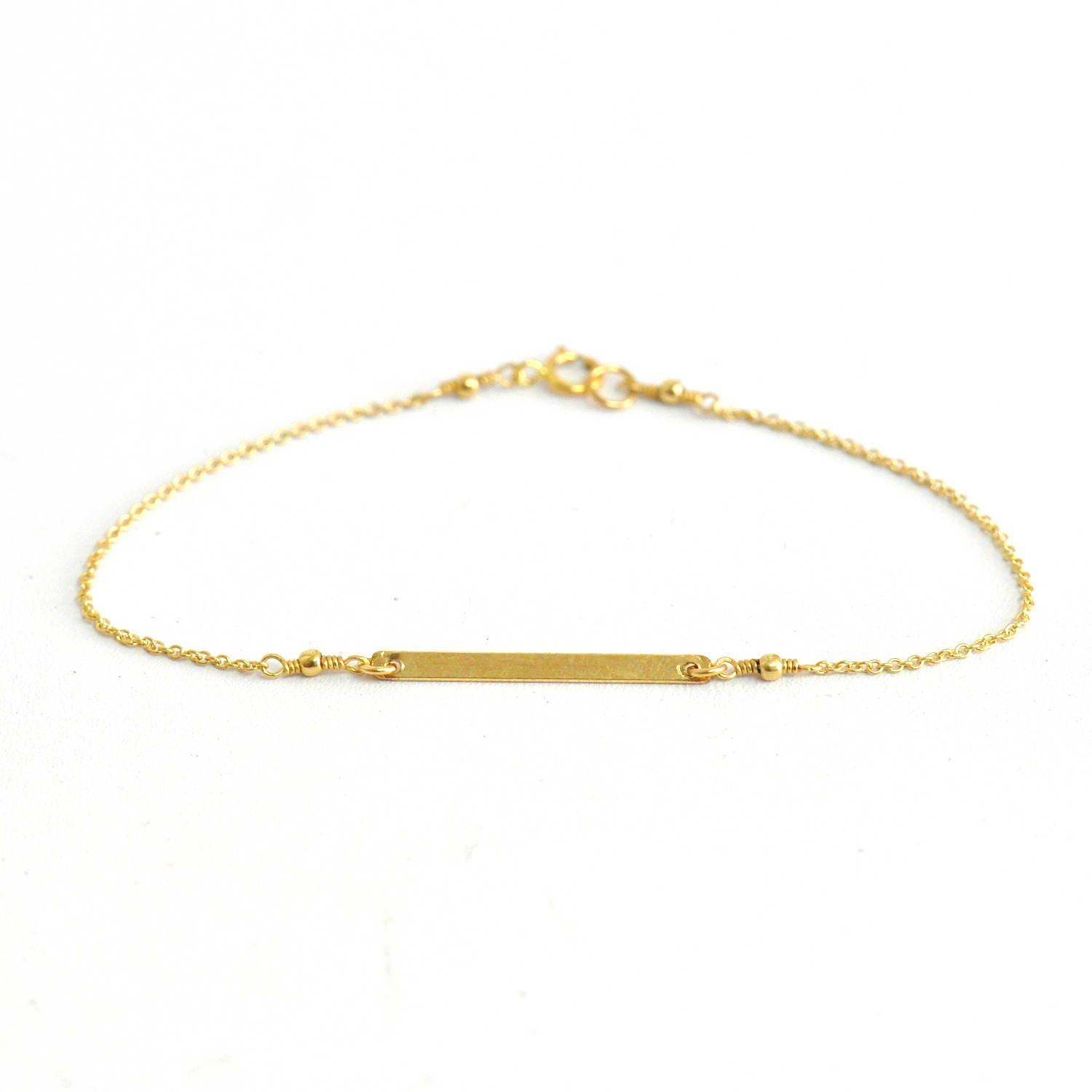 bracelet vsd bar yellow gold