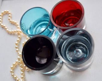 Hand Blown glass containers