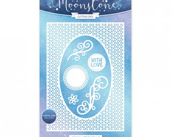 Moonstone Dies: Lovely Lattice Frame , Hunkydory Cutting Dies,Hunkydory Die Set,scrap booking, Corner,  moonstone Cutting Dies,cutting Dies,