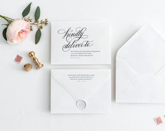 Editable Template - Instant Download Musical A7 Envelope