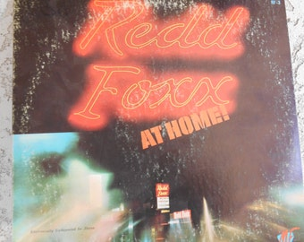 Redd Foxx At Home vinyl Record