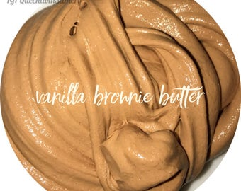 Vanilla Brownie Butter Slime
