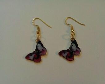 Colorful  Butterfly Earrings 249697