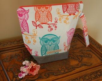 Owls Project Bag, Medium