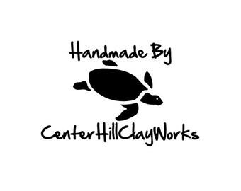 Sea Turtle Rubber Stamp custom handmade by Honu