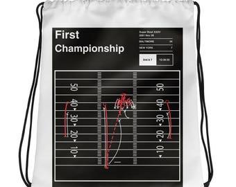 Ravens Football Drawstring Bag: First Championship (2001)