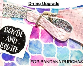 D-ring upgrade for bandana