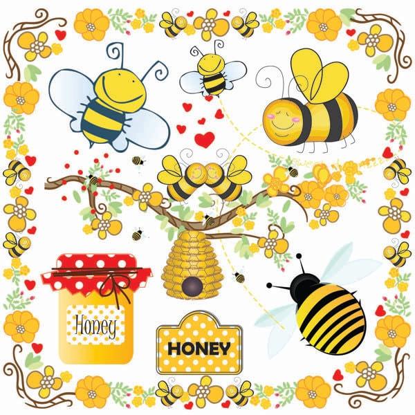 Bees Clip Art Bumble Bee Beehive Clip Art Buzzy Bee Clip