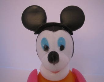 Vintage Knock Off Mickey Mouse Stack Up Toy (Hong Kong)