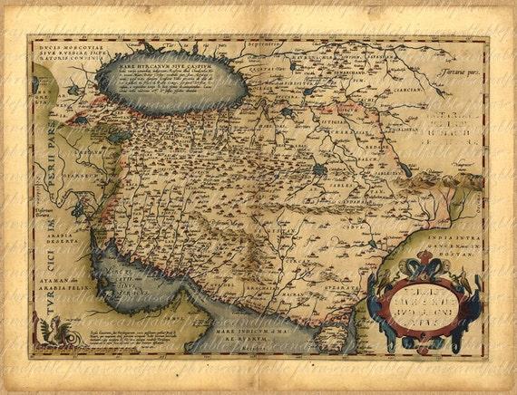 Map of persia from the 1500s 100 ancient old world map map of persia from the 1500s 100 ancient old world map exploring vintage digital image download travel iran tehran mashhad isfahan karaj gumiabroncs Choice Image