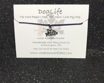 DOG LIFE Adjustable Bracelet L