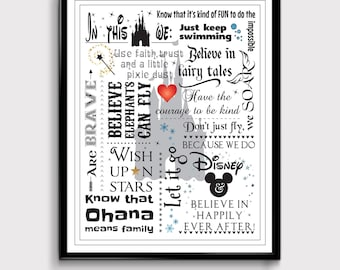 Disney Family, In this House, Disney Quotes, Disney Art, Disney Inspiration, Disney Gifts, Mickey Mouse, Disney Princess, Disney Movies