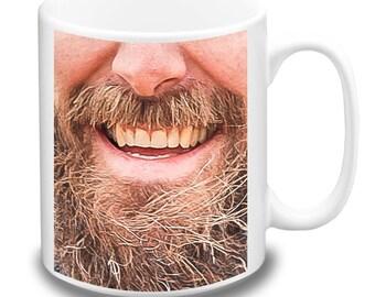 Coolrideplates® 'Beardy' Design Mug