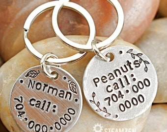 Pet Personalized Tag - Cat Tag - Dog Tag -Customizable Animal Tag - New Pet Gift - Cat ID - Dog ID - Dog Mom Gift - Cat Mom Gift
