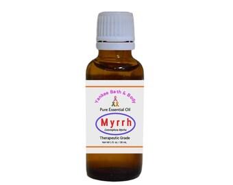 Myrrh Essential Oil Therapeutic Grade Free Shipping