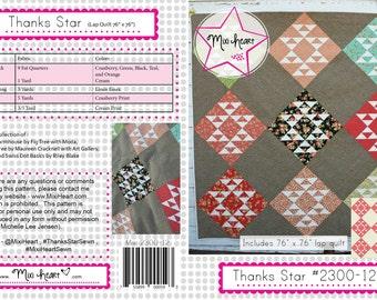 Thanks Star PDF Quilt Pattern