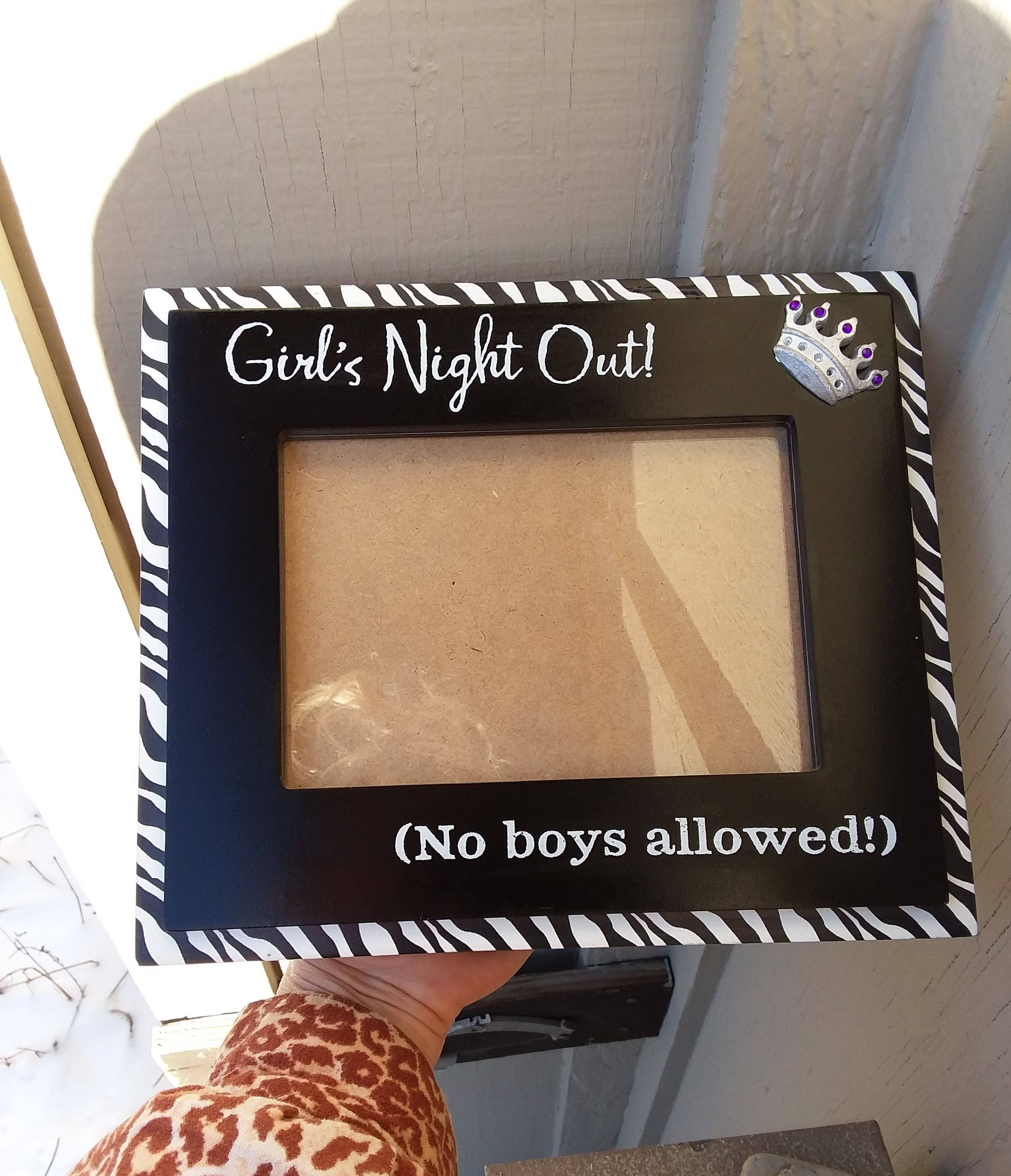 Girl\'s Night Out Picture Photo Frame, Bachelorette Party Theme ...