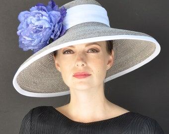 Kentucky Derby Hat, Wedding Hat, Ascot Hat,
