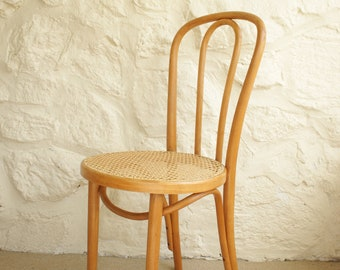 Thonet Bentwood Side Chair, Vintage Dining Chair, Bentwood Desk Chair
