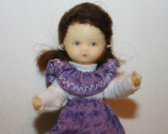 Vintage Doll -Lovely Erna Meyer Little baby- Dollhouse doll- made in Germany -Miniatures