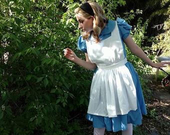 Adult Size Alice in Wonderland Dress